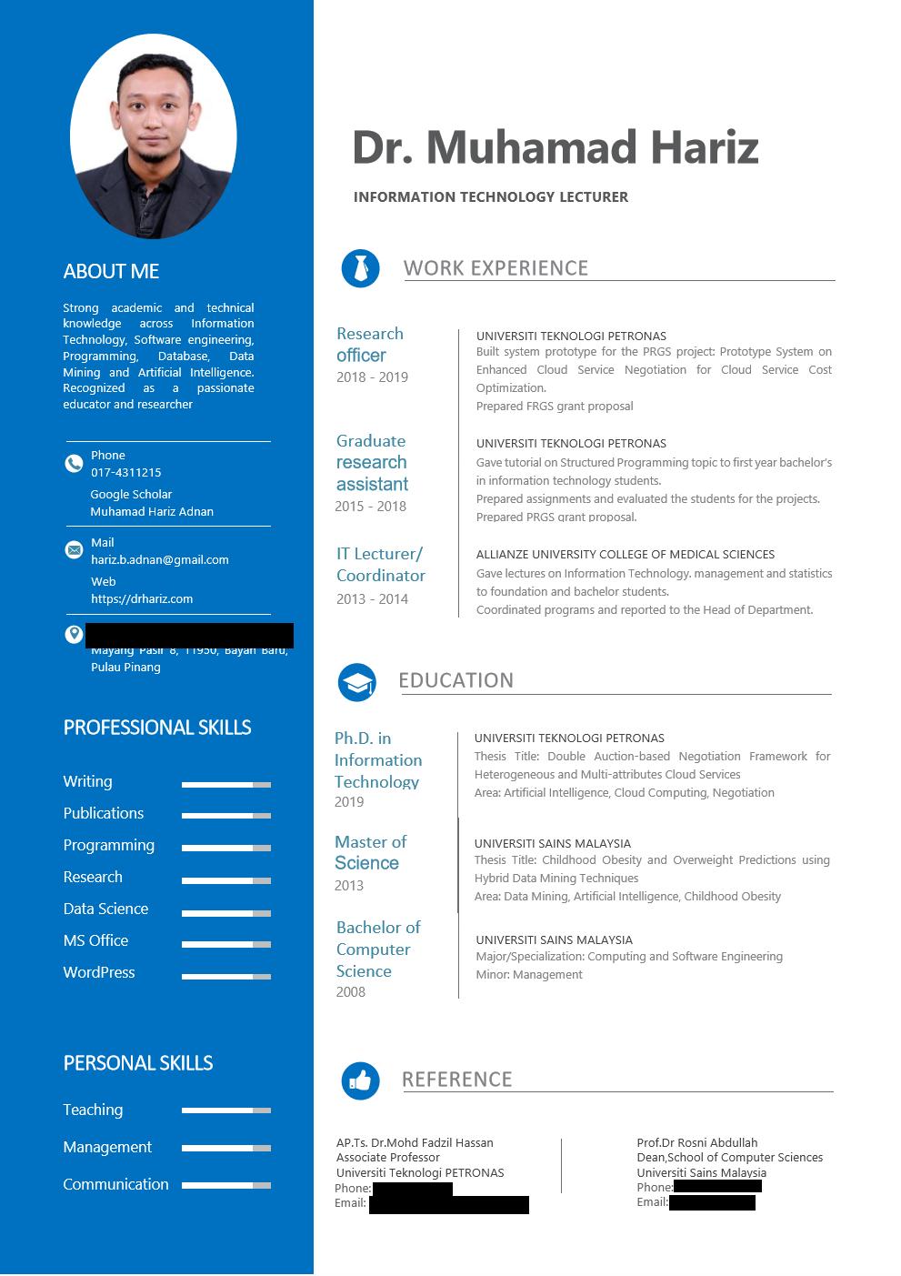 Contoh Format Resume Terbaik 2020 Resume Terkini Pesta Buku